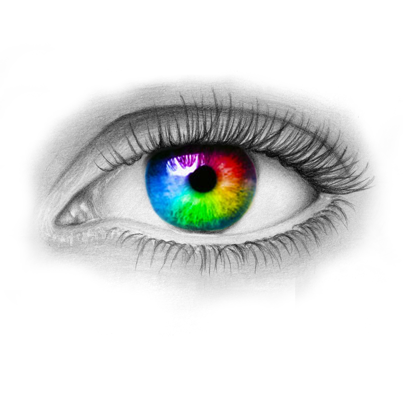 Colori degli occhi pi rari le sfumature pi improbabili - Colore degli occhi diversi ...