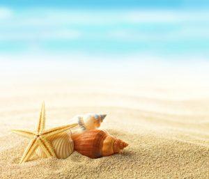 lenti a contatto in spiaggia