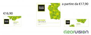 lenti a contatto clearvision oxygen